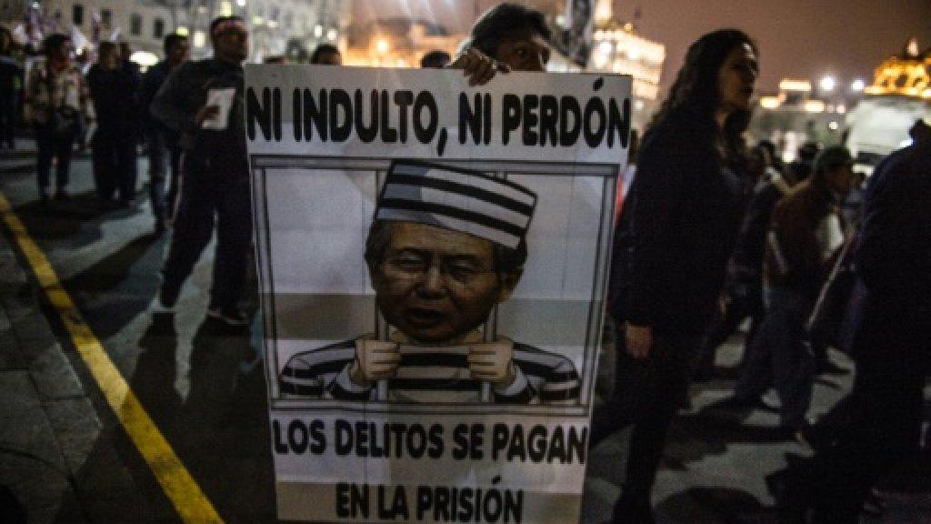 Peru's jailed ex-president Fujimori faces Christmas in hospital