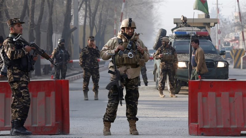 Afghanistan: At least five killed in Kabul as ISIL bomber targets spy agency