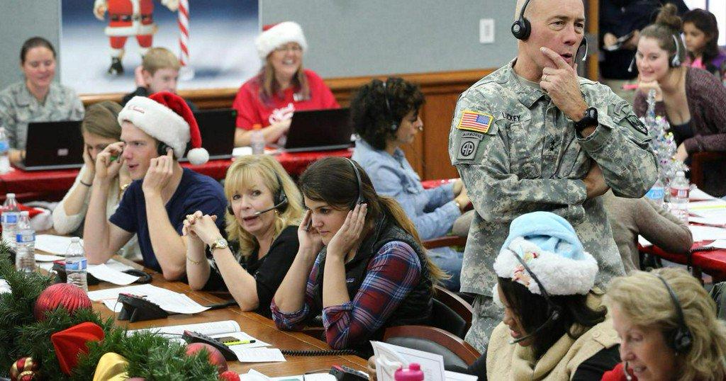 NORAD tracks Santa around the world on Christmas Eve
