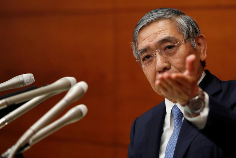 Top Japan government spokesman says Abe happy with BOJ Kuroda's job: Mainichi