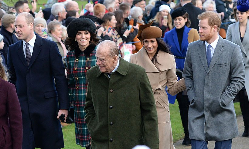 Kate and Meghan make first joint appearance at Christmas day church service: