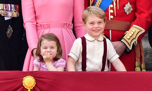 How many Christmas presents will Prince George and Princess Charlotte get today?