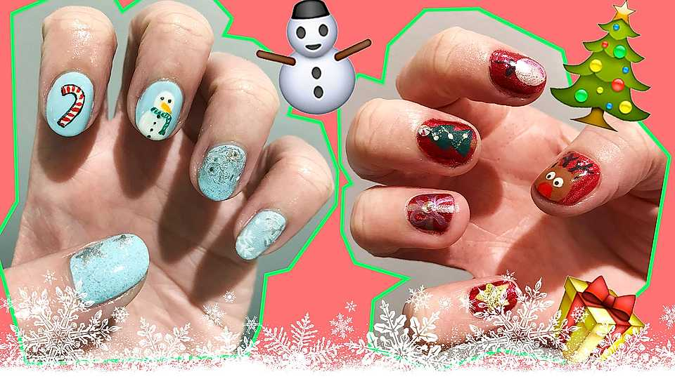 Beauty tutorial: Christmas nail art (because your fingers deserve to be festive too!)