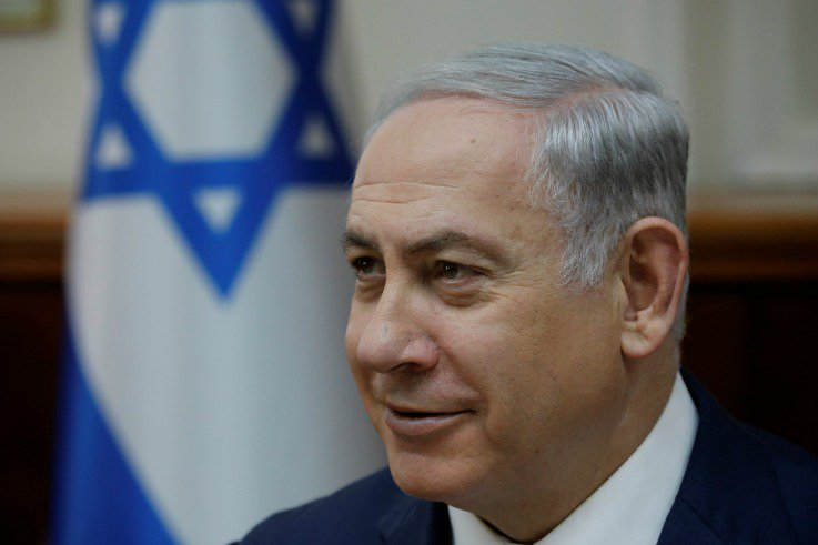 """Channeling Donald Trump, Netanyahu claims Israel """"says Merry Christmas"""""""
