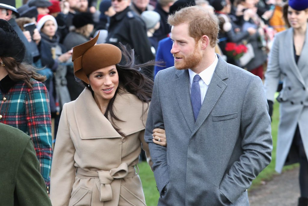 Watch: Meghan Markle delights onlookers in first Christmas appearance with royal family
