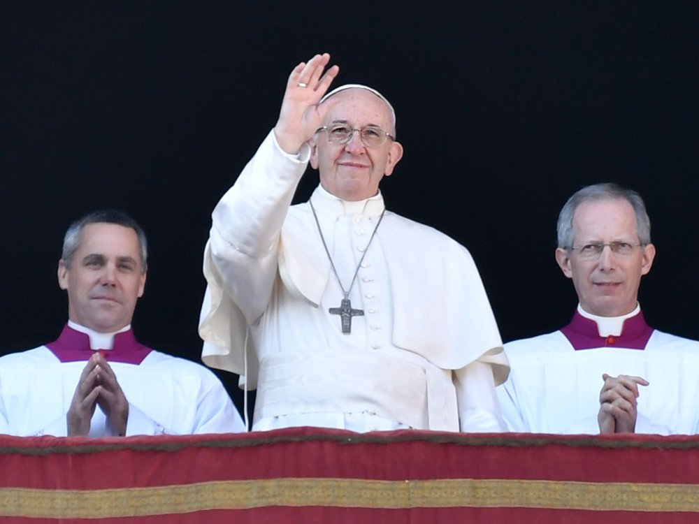 Pope Francis laments 'winds of war' and calls for a two-state solution in Israel
