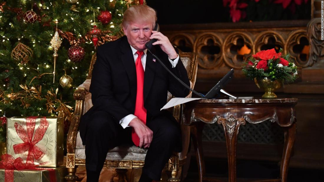President Trump celebrates Christmas surrounded by family, friends — and Twitter