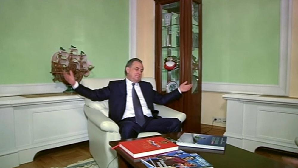 Mutko suspends himself from presidency of Russian Football Federation
