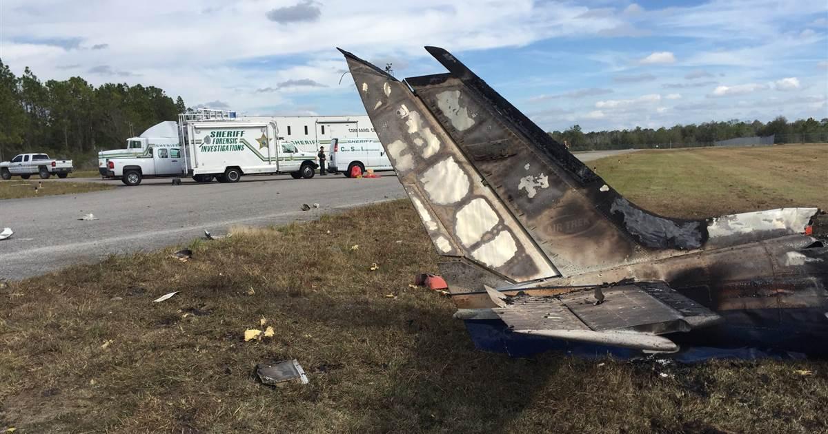 Florida plane crash kills family on Christmas Eve trip