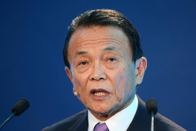 Japan making steady progress in beating deflation: Aso