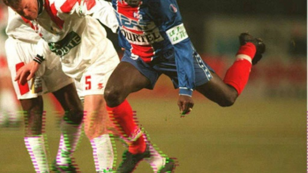 George Weah: ex-football star who could be Liberia's next leader