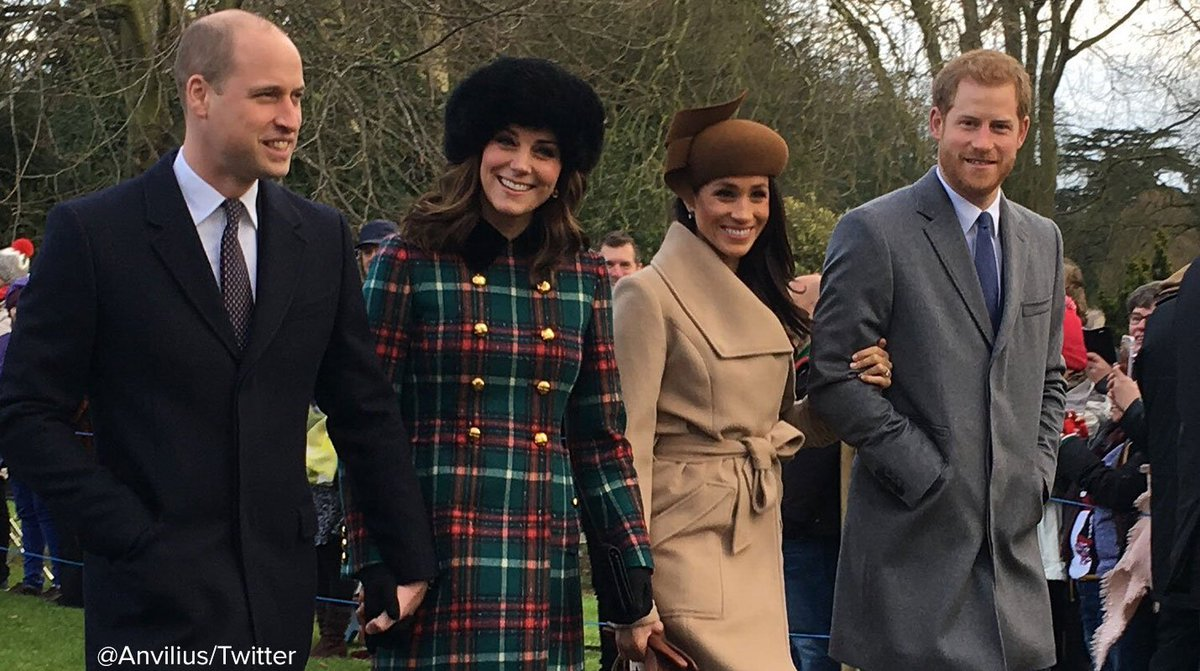 Meghan Markle joins royal family for her first Christmas celebration with Prince Harry.