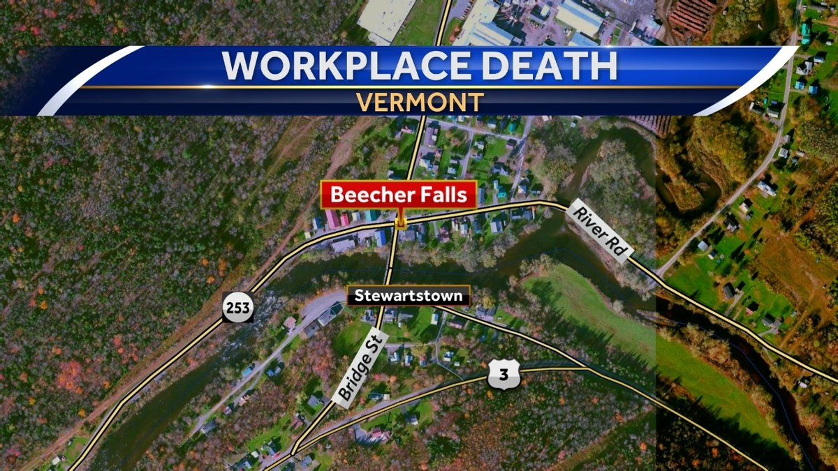 NH man killed in workplace accident at Vermont plant