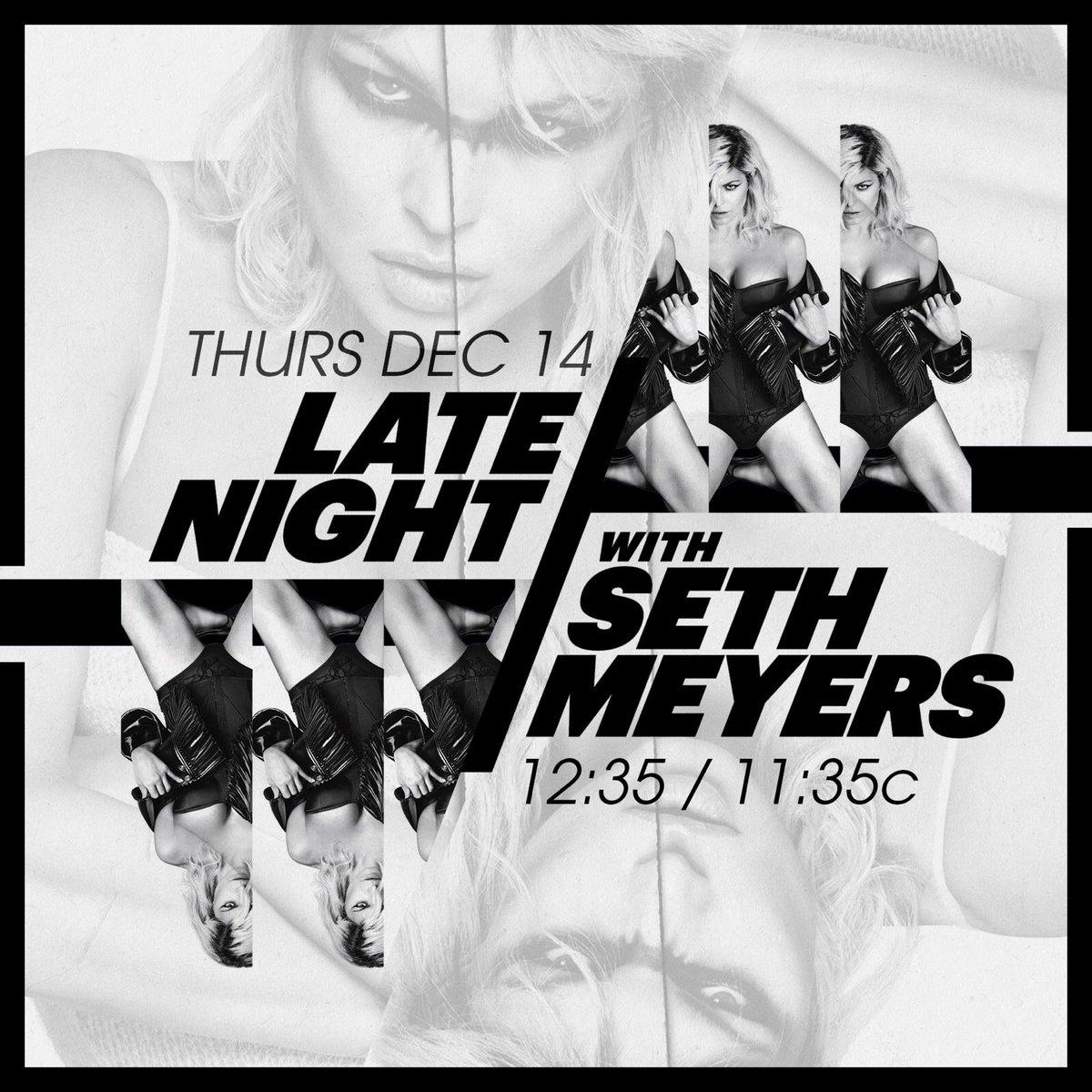 tonight! @LateNightSeth https://t.co/CacGAdybWN
