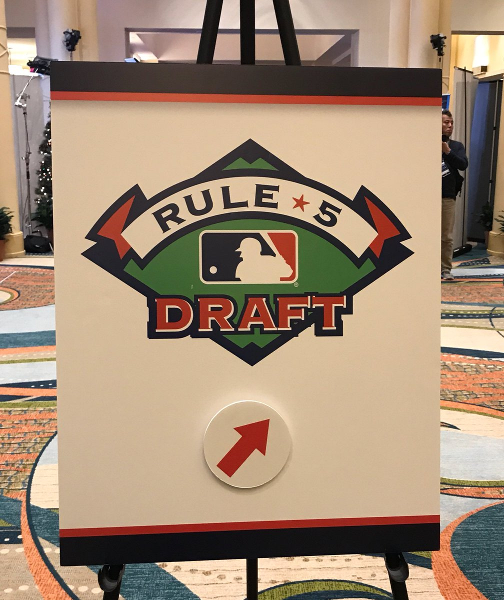 Hey everyone, this way to the Rule 5 Draft!l https://t.co/64xHagRMR8