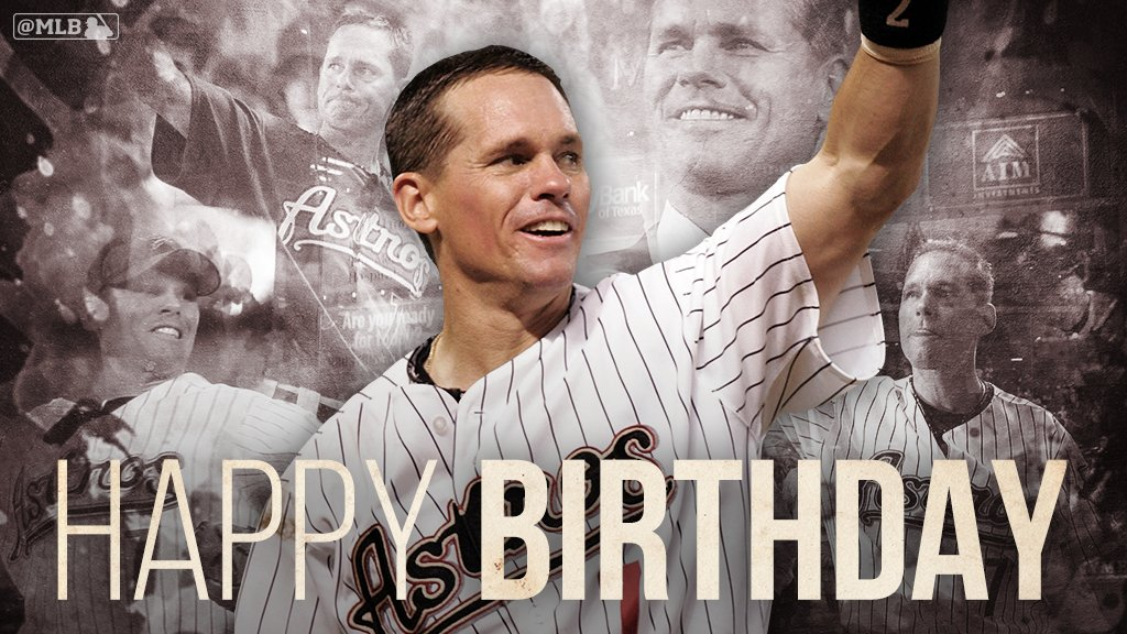 Happy birthday to 7-time All-Star and member of the @baseballhall, Craig Biggio. https://t.co/cSD8WS2eOu