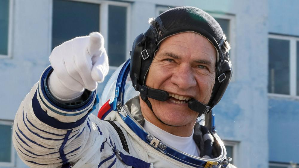 Italy's 60-year-old astronaut Paolo Nespoli comes back to Earth