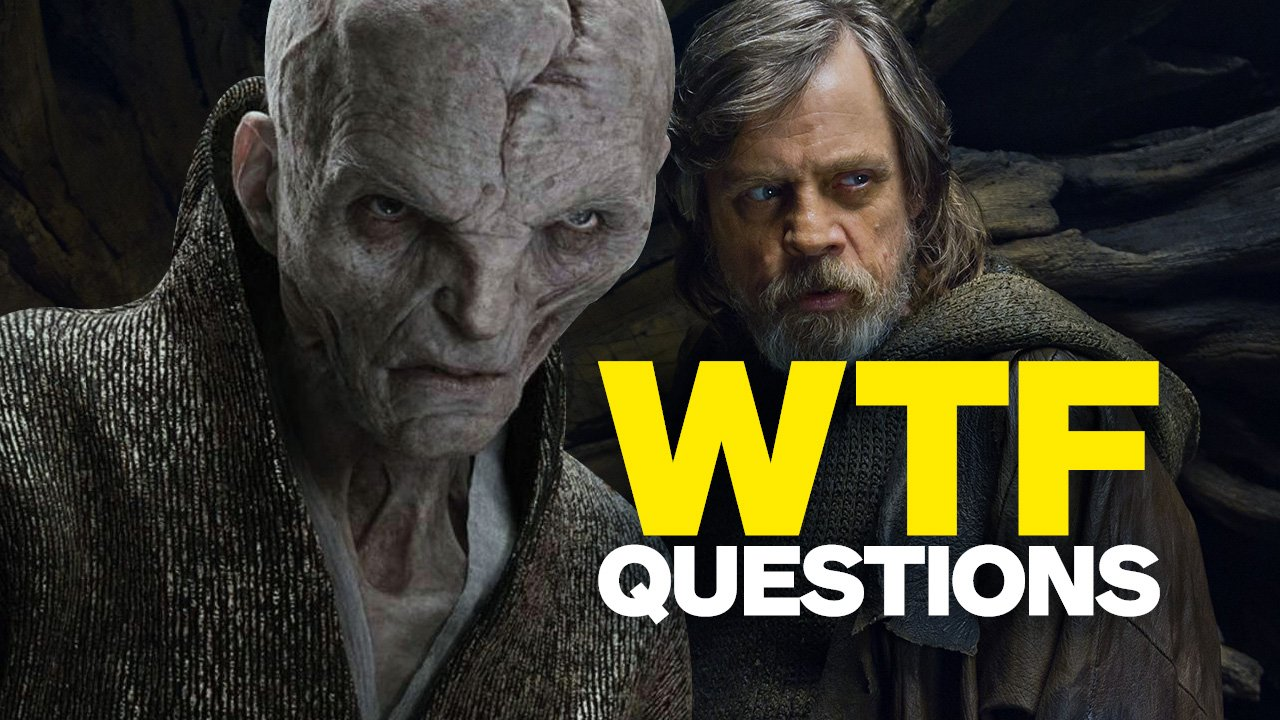 Here are the 6 biggest WTF questions we have coming out of #StarWars: #TheLastJedi!  https://t.co/UvPQyMLl9h https://t.co/fry4Bcc4NC