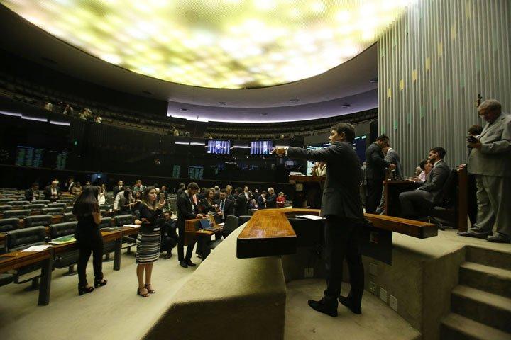 @BroadcastImagem: Relator da reforma faz discurso político e sem leitura de emenda aglutinativa. André Dusek/Estadão