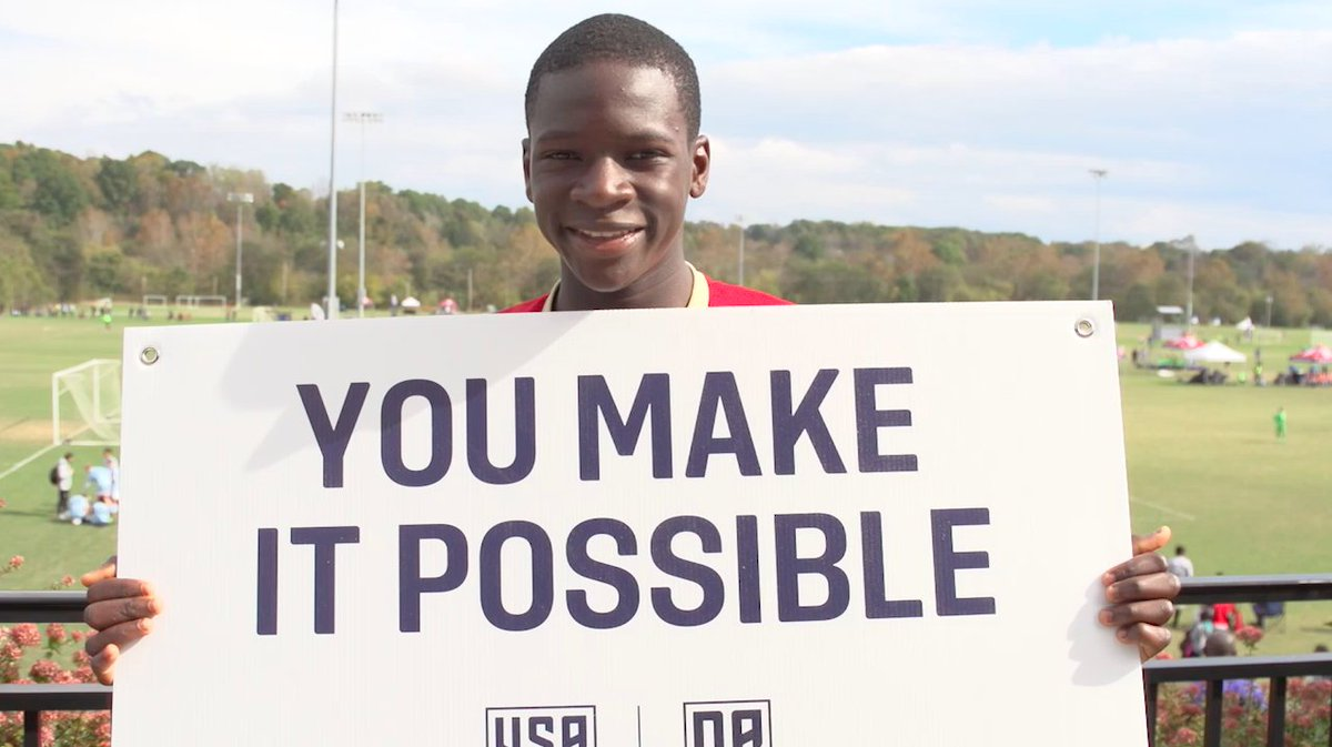 Donors change lives. @ussoccer_acad scholarship recipients are the proof.   #FanWeek2017 // https://t.co/PbIJUiQY4l https://t.co/W1ZcGgMuvC