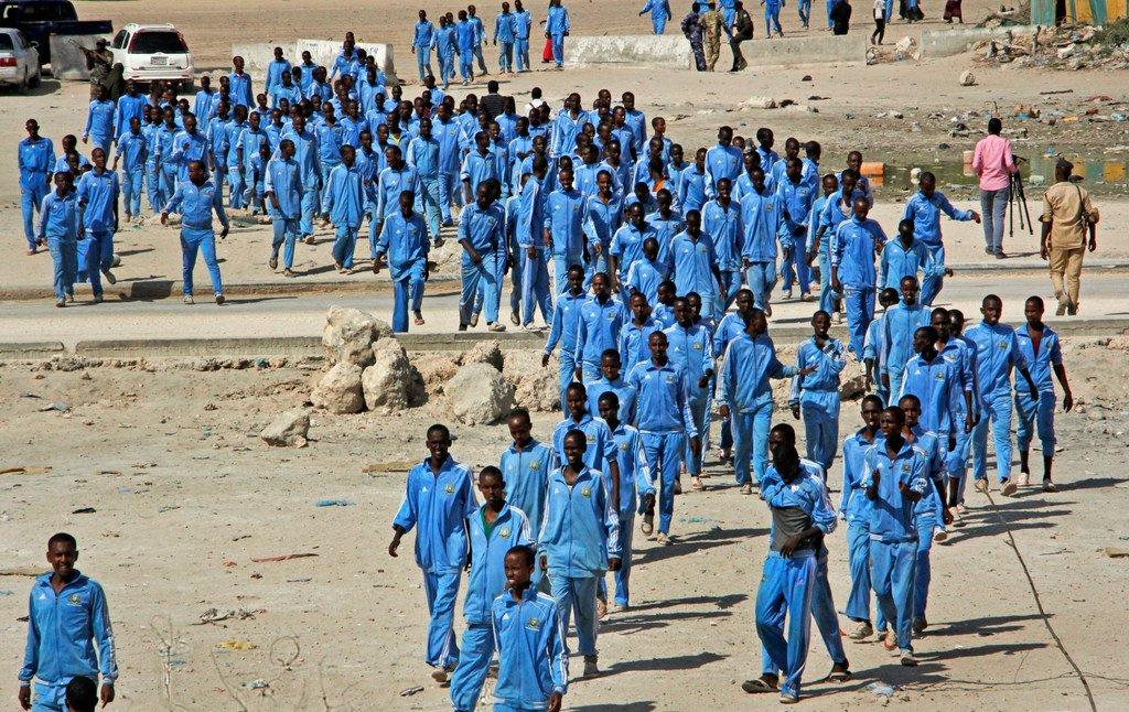 Suicide bomber kills 18 at Somalia police academy