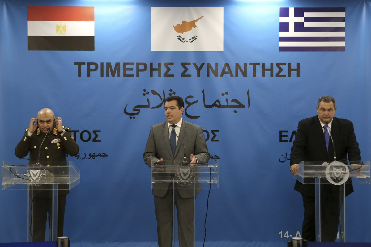 Cyprus, Egypt, Greece agree to bolster maritime security