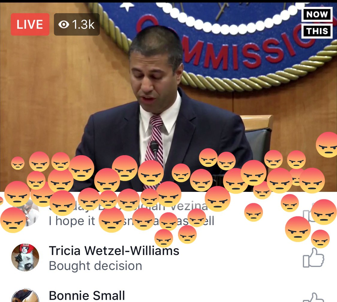 RT @JordanUhl: FCC's #NetNeutrality hearing is being received well https://t.co/4DmaasTgRY