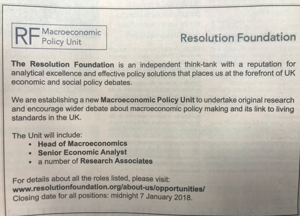 test Twitter Media - Exciting Resolution Foundation jobs in today's @FinancialTimes. Get all the details here https://t.co/o87gyVQXw7 https://t.co/uuZ2HT3ep6