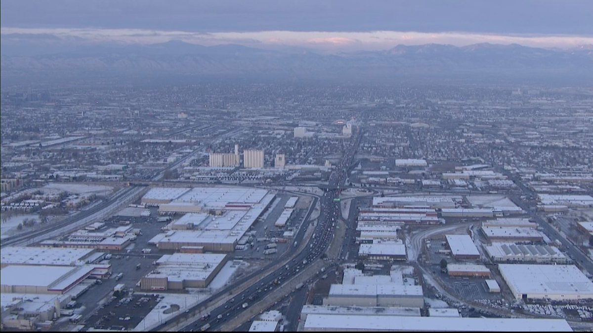 Denver Ends Snowless Streak With 0.4 Inches OfSnow