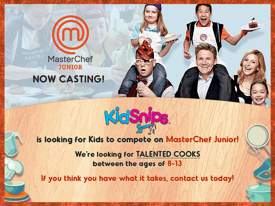 test Twitter Media - #KidSnips is seeking talented 8-13 year old kids to compete on @MasterChefJrFOX! To apply, go to: https://t.co/wfi35zuUub https://t.co/7qH8Tto6OG