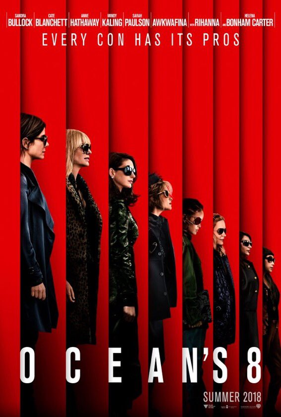 Meet the new guys. #Oceans8 opens at Regal on June 2018. https://t.co/4KZomYzBSu