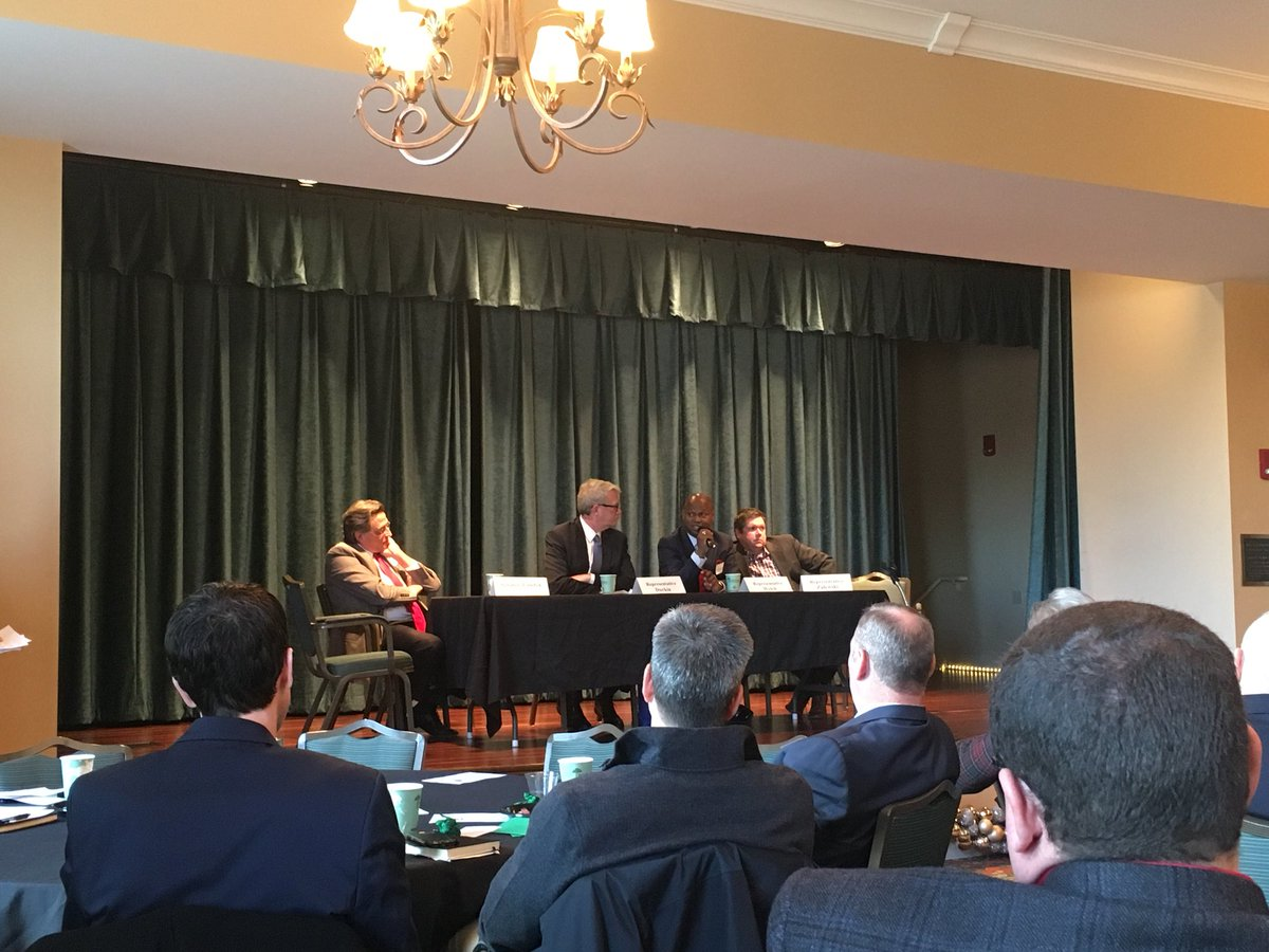 test Twitter Media - Enjoyed appearing on a Legislative Panel in LaGrange Park today with Senator Steve Landek, Republican House Leader Rep. Jim Durkin and Rep. Mike Zalewski.  Great discussion on how to grow our state's economy and help small businesses. Special thanks for the West Suburban Chamber. https://t.co/11Tzxrajlp