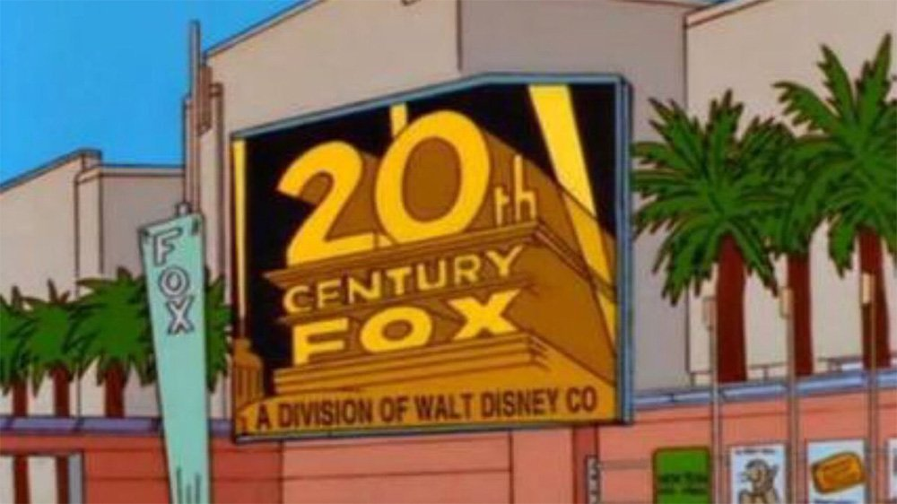 'The Simpsons' predicted Disney's acquisition of Fox almost 20 years ago