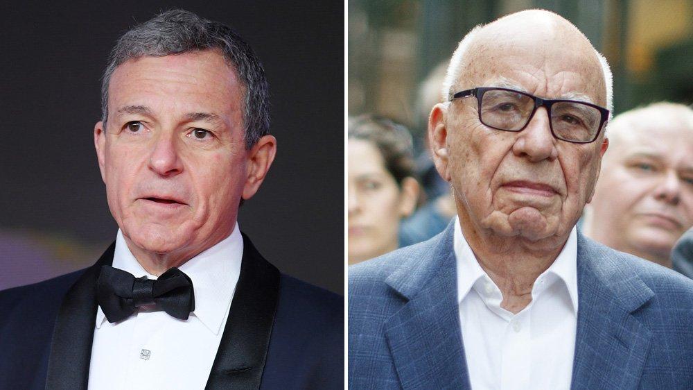 Disney-Fox deal: Bob Iger, Rupert Murdoch find common ground as their mogul paths diverge