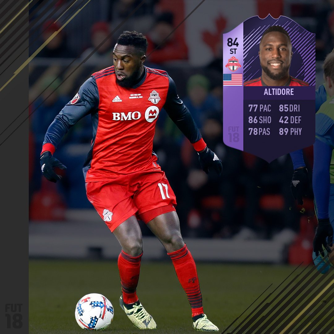 MVP! MVP!  @EASPORTSFIFA is hooking it up with this @JozyAltidore hero card in #FUT!  #TFCLive | #FIFA18 https://t.co/bUi7NrgUAE