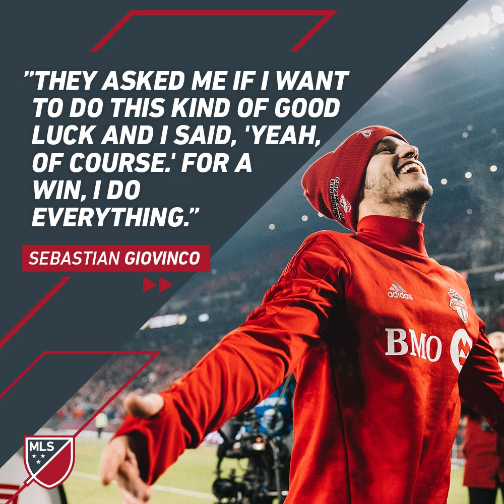 RT @MLS: The story behind Giovinco's lucky loonie at #MLSCup: https://t.co/D1XVQLYRx3 https://t.co/QfLMQWZINZ