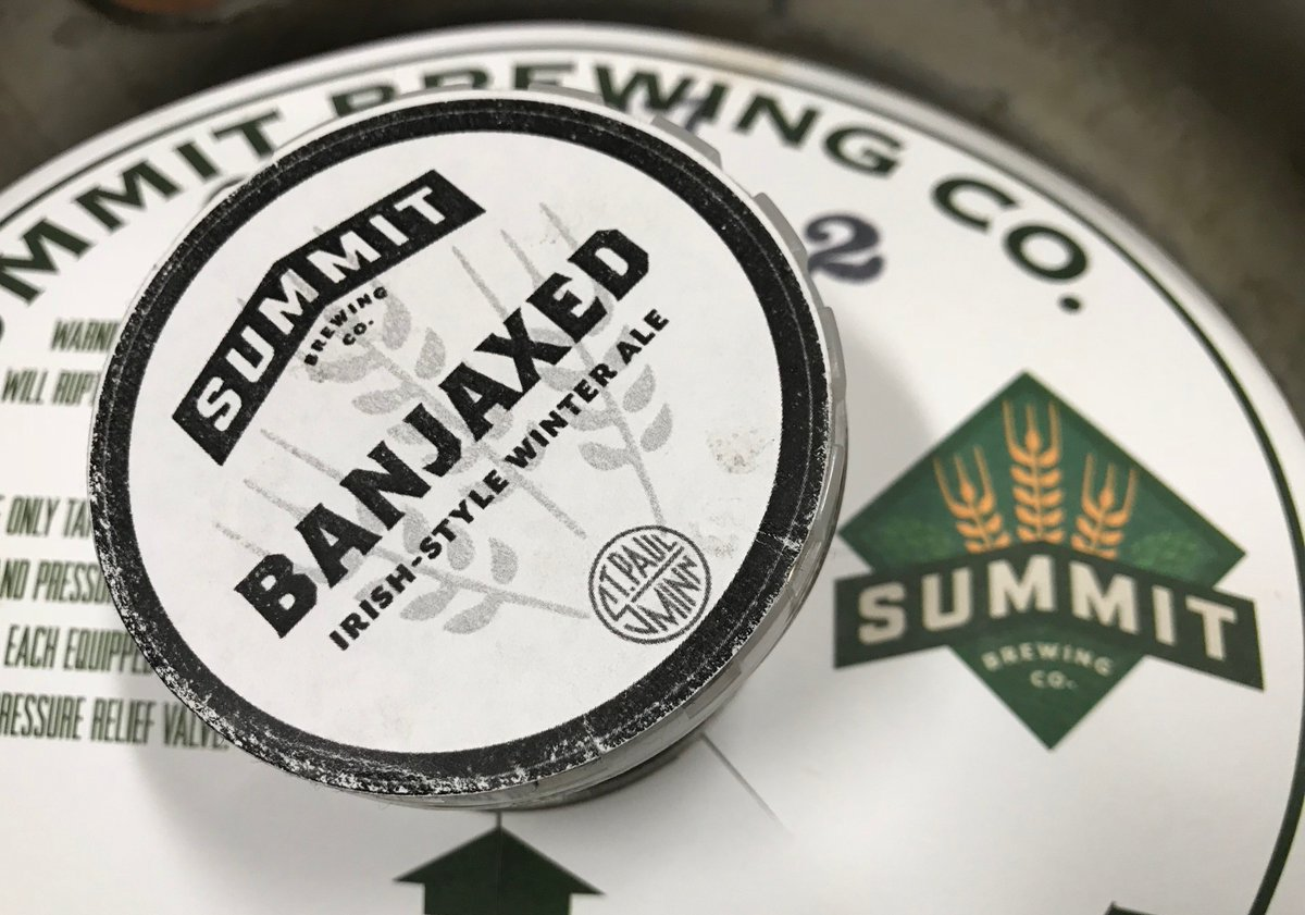 A new Irish-style Winter Ale hits the nitro line today at the Summit Beer Hall. Come on over and get Banjaxed already.   P.S. @gastrotruck is here in case you like food with your beer. https://t.co/XRQ6bUcrq9 https://t.co/0INeybld3J