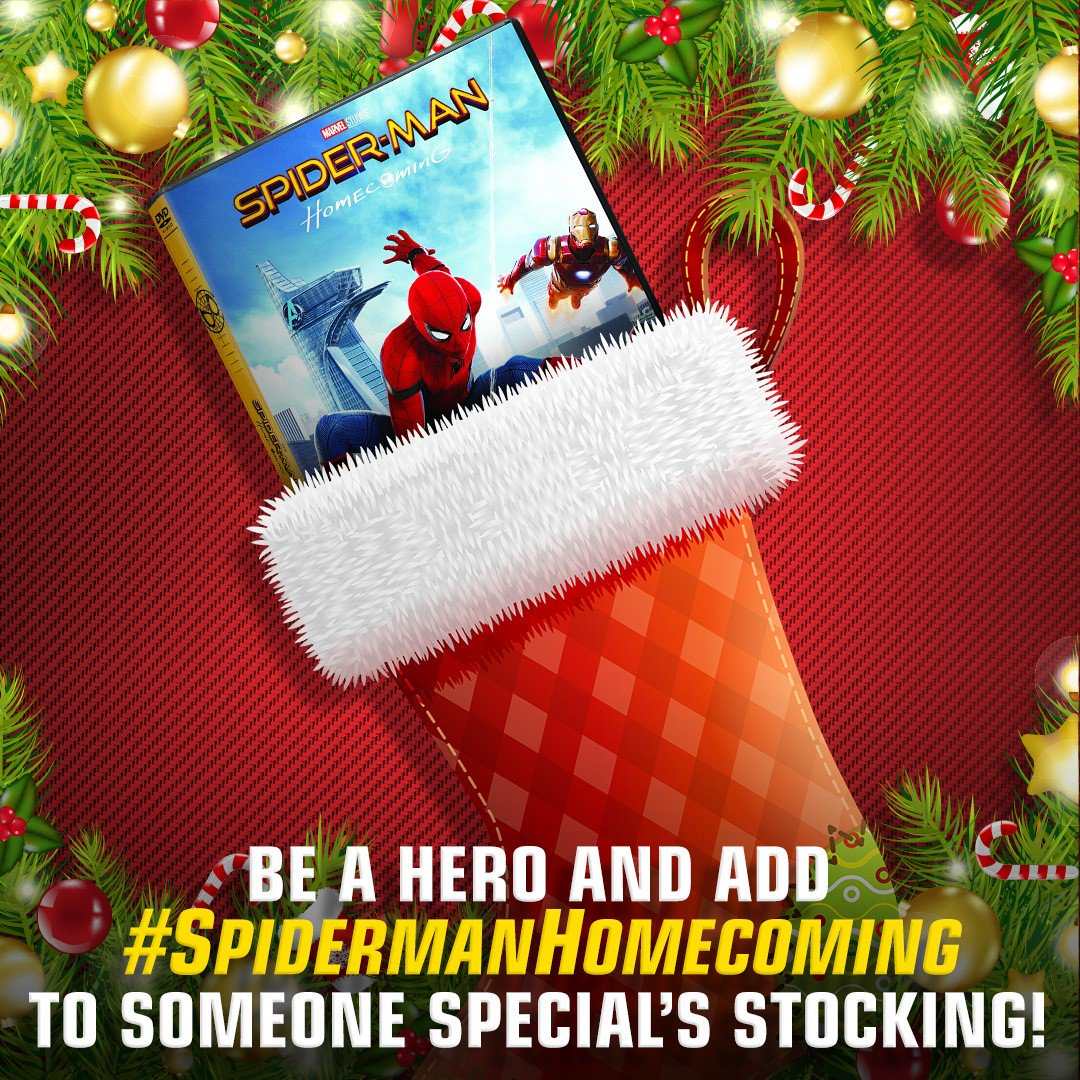 Cross off #SpidermanHomecoming from your holiday shopping list and pick it up today! https://t.co/EBl2fjooK9