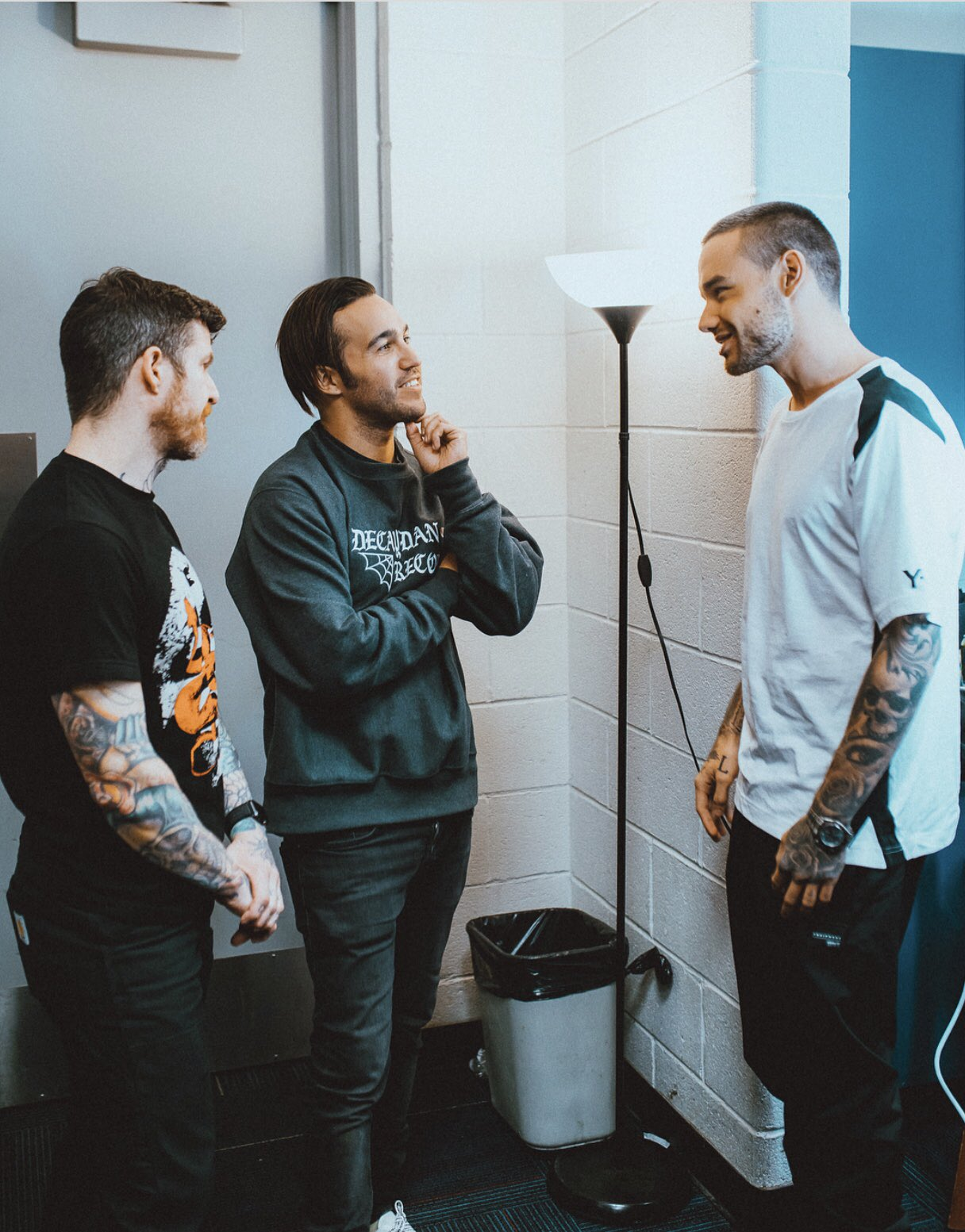 Good to see you boys again! @petewentz @hurleyxvx ���� https://t.co/oR4I15kQas