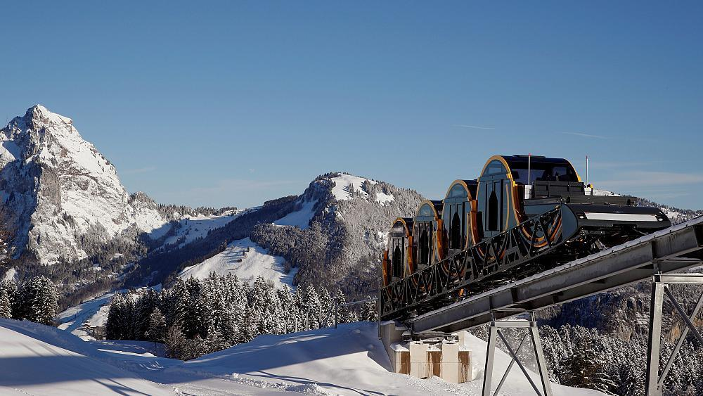 World's 'steepest funicular line' set to open in Switzerland