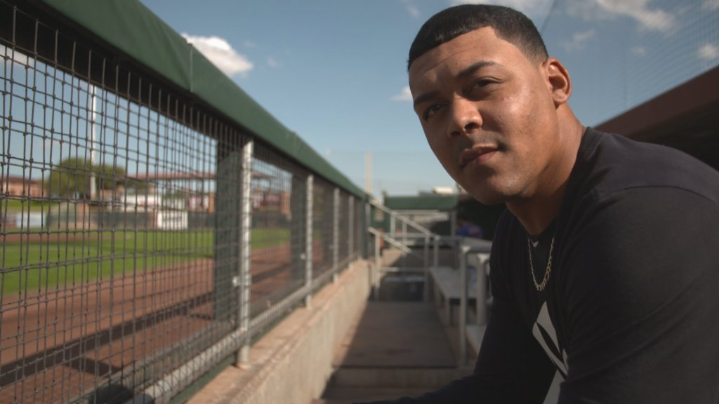 Flame throwing lefty Justus Sheffield followed up a strong year in Trenton with an impressive showing in the Arizona Fall League. 💪  @YankeesonDemand checks in on the young southpaw HERE! https://t.co/MkuiTNWgXc https://t.co/VQY6Og6Ff9