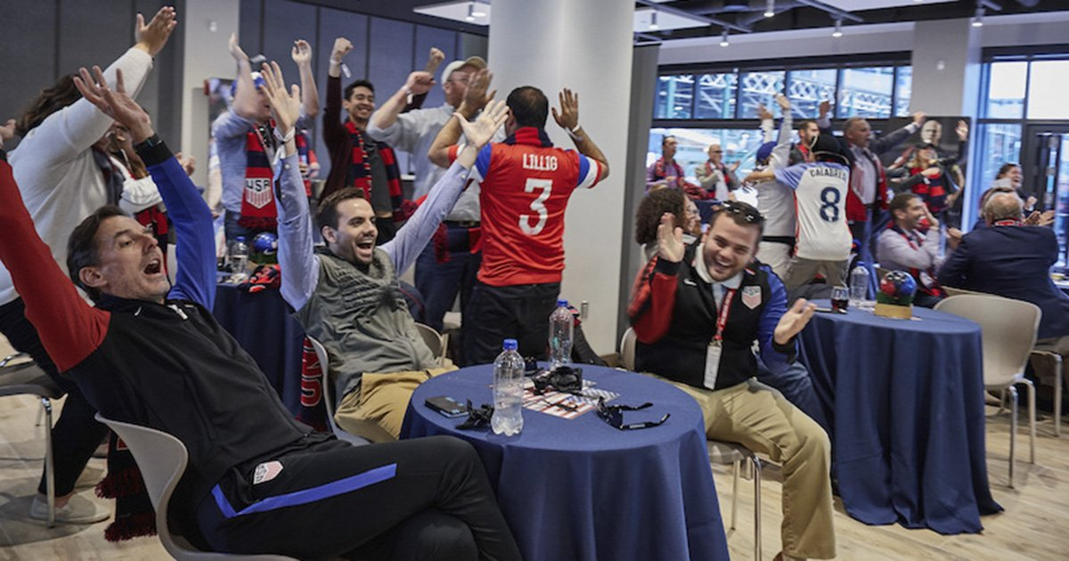 More than $3 million invested into the future of ⚽️ in 🇺🇸. Shining at spotlight on our donors » https://t.co/l4i0Zd2XHH https://t.co/yIh3OswOpF