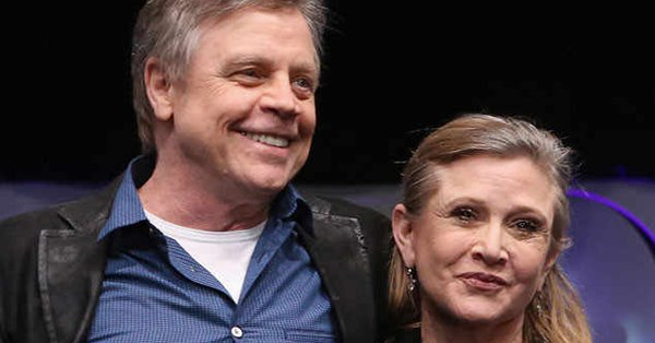 Luke and Leia were siblings in Star Wars, but they were hooking up IRL.