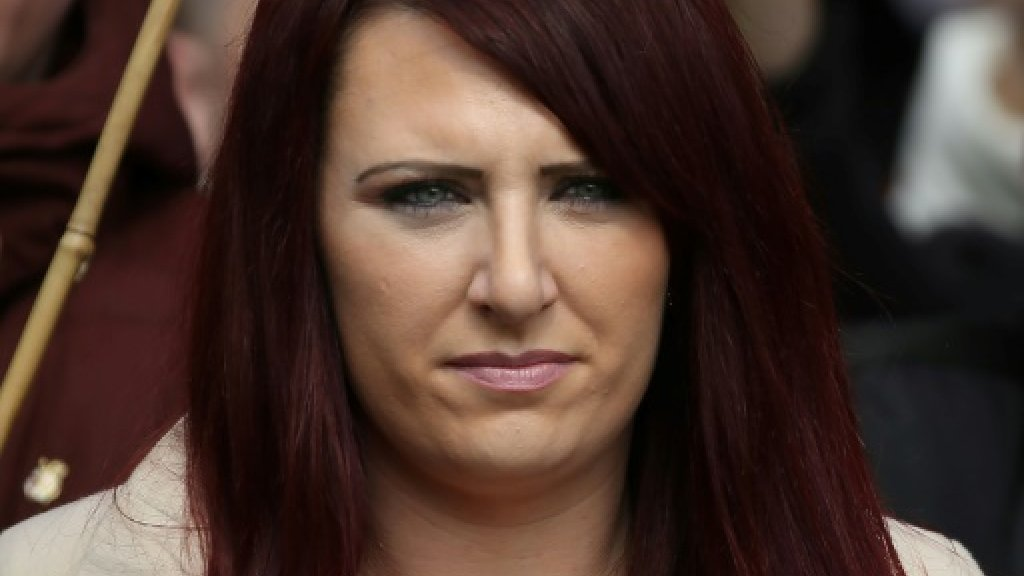 UK far-right leader retweeted by Trump appears in court