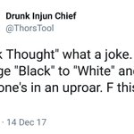 RT : when race trolls see black thought...