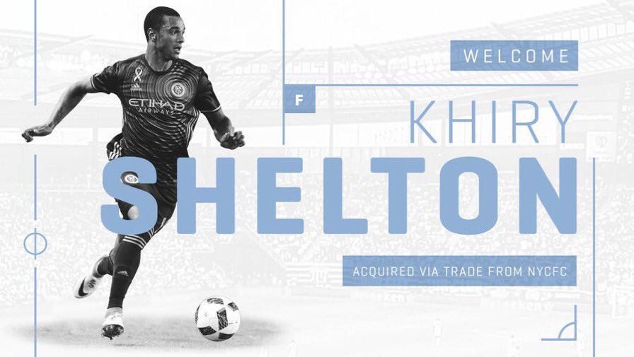 TRADE | @SportingKC have acquired striker @KhiryShelton from @NYCFC with defender @Saad_Abdul moving the other way. #SportingKC #NYCFC https://t.co/RMPNDYFsgC