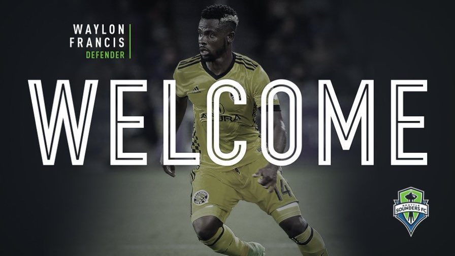 NEWS | @SoundersFC have acquired defender @WaylonFrancis90 from @ColumbusCrewSC. #SoundersFC #CrewSC https://t.co/NPwy54s91t