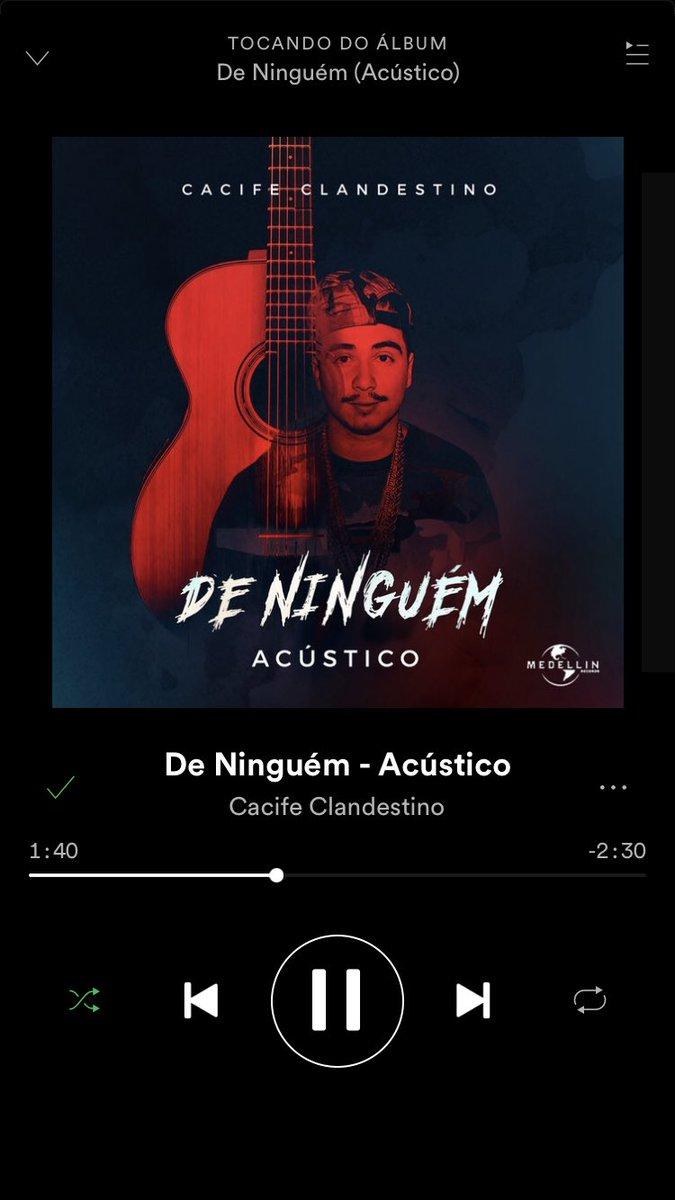 #AcusticoDeNinguem