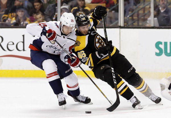 Boston Bruins fall to Capitals, stretch winless streak vs. Washington to 11 games