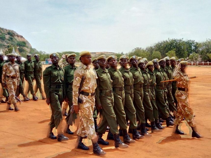 KWS unveils 78 community rangers to curb poaching in Turkana